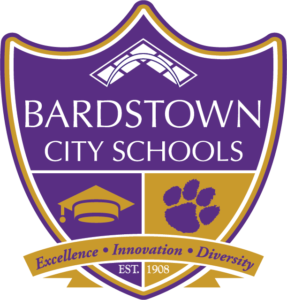 Bardstown City Schools Shield. Excellence Innovation Diversity