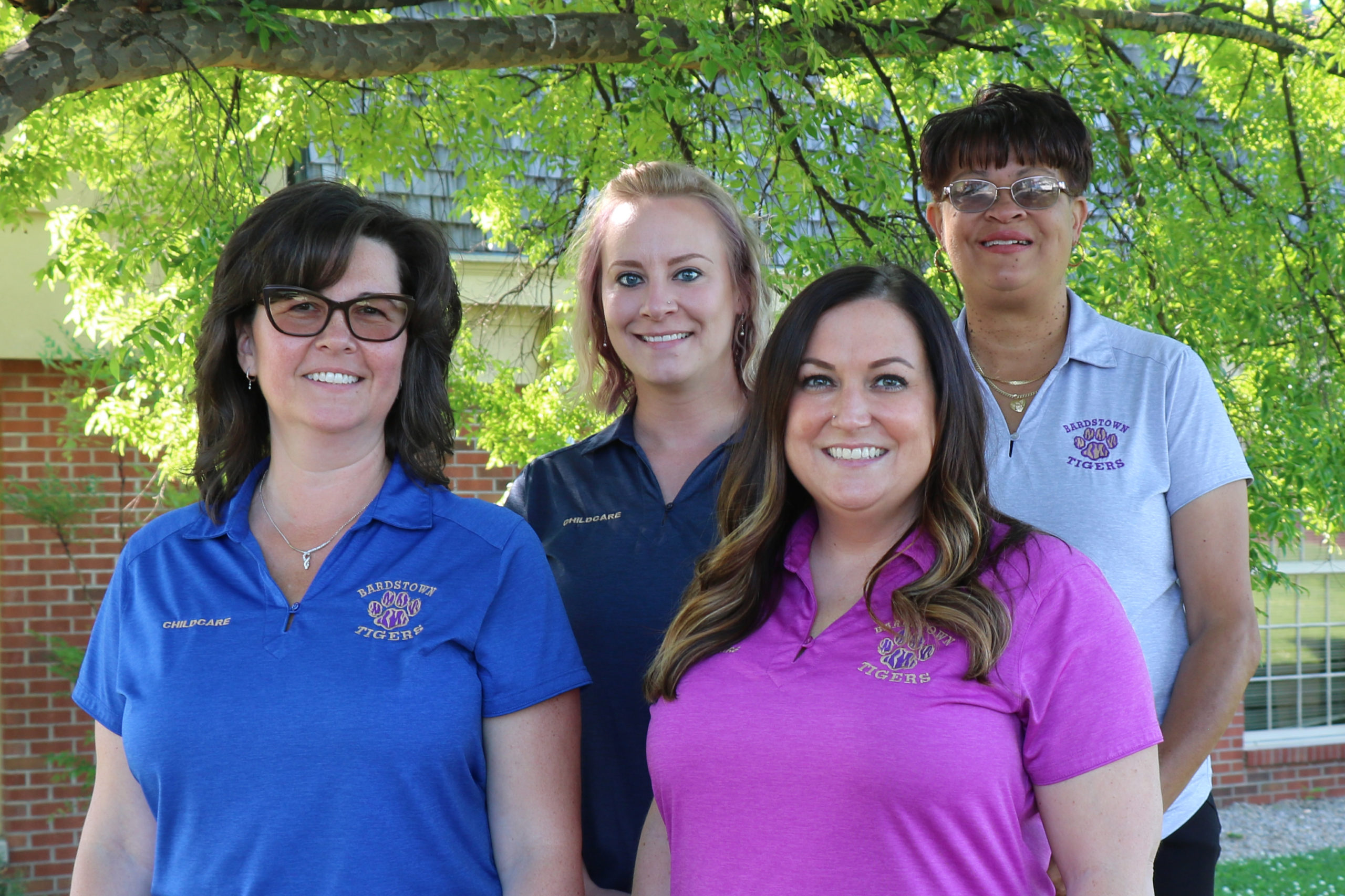 Bardstown Childcare directors Christy, Emily, Brenda, and Alicia