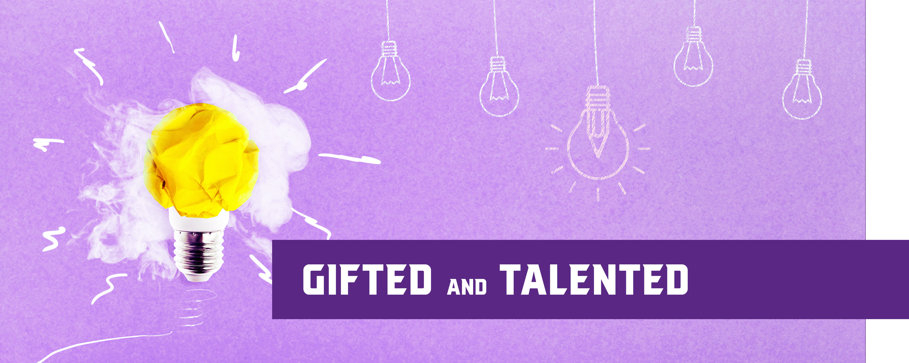 Gifted & Talented website image