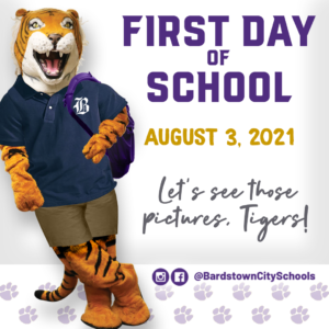 2021 First Day of School web blog pic