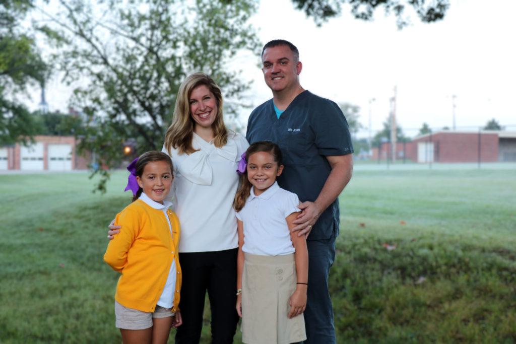 Dr. Lindsay Blackmon and family