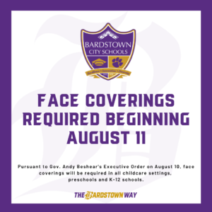 Face Coverings Required Graphic